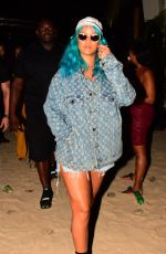RIHANNA at a Carnival Event in Barbados 08/06/2017