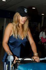 RITA ORA at Heathrow Airport in London 08/25/2017