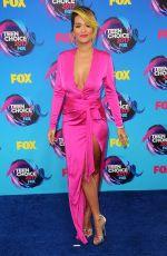 RITA ORA at Teen Choice Awards 2017 in Los Angeles 08/13/2017