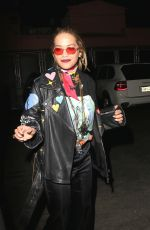 RITA ORA at The Tings Secret Party Launch in West Hollywood 08/23/2017