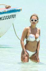 RITA ORA in Bikini on the Beach in Jamaica 07/30/2017