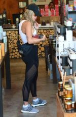 RITA ORA in Tights Out Shopping in West Hollywood 08/04/2017
