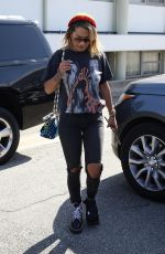 RITA ORA Out and About in Beverly Hills 08/18/2017
