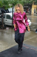 RITA ORA Out in New York 08/07/2017