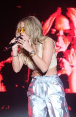 RITA ORA Performs at Victorious Festival in Southsea in Hampshire 08/26/2017
