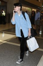 ROONEY MARA Arrives at LAX Airport in Los Angeles 07/27/2017