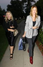 ROSIE HUNTINGTON-WHITELEY Arrives at a Party in Hollywood 08/23/2017