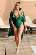 RUBY LACEY at The Only Way is Essex Cast in Marbella 08/08/2017