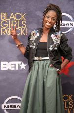RUTINA WESLEY at BET Black Girls Rock! in Newark 08/05/2017