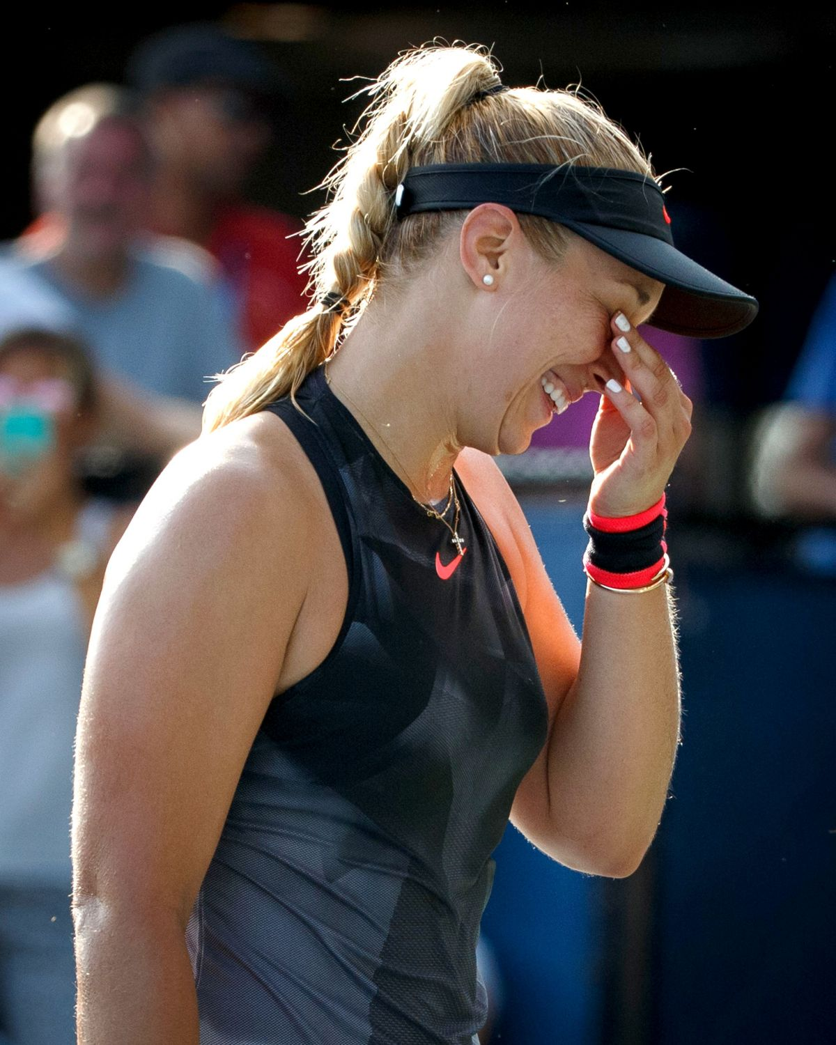 SABINE LISICKI at 2017 US Open Tennis Championships 08/30/2017