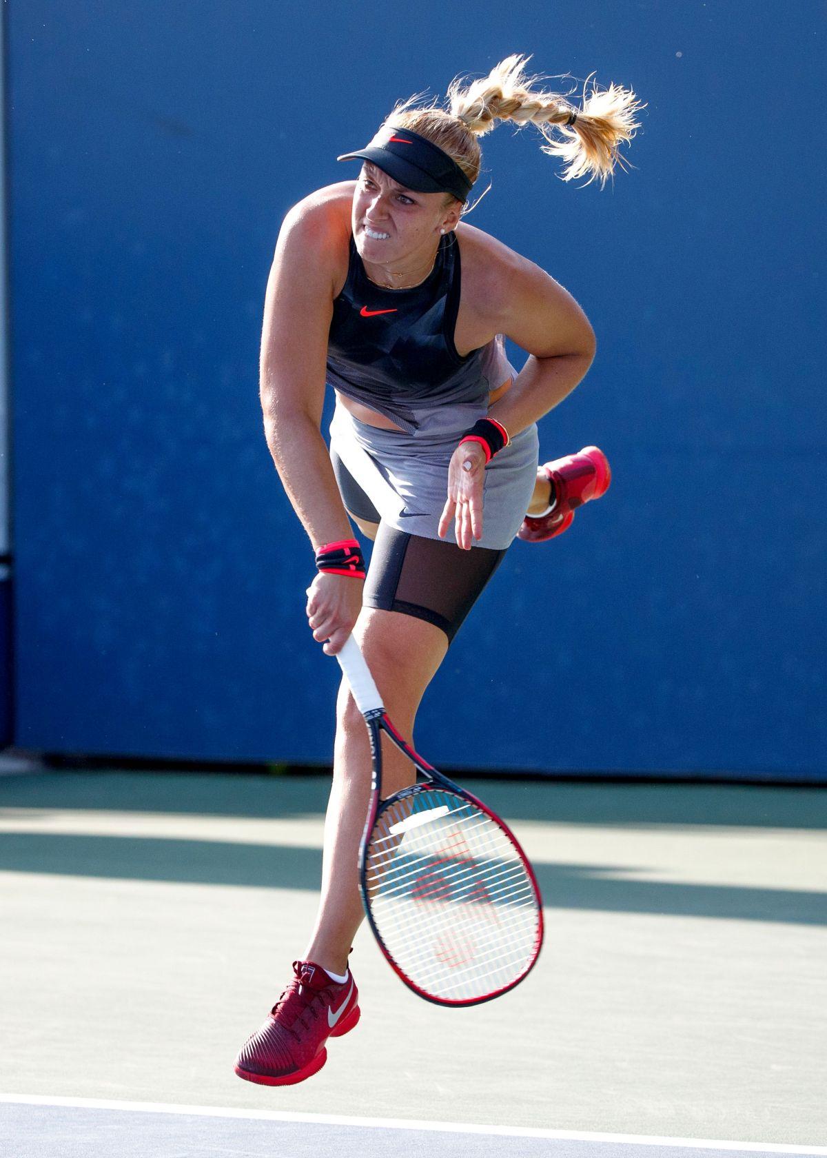 SABINE LISICKI at 2017 US Open Tennis Championships 08/30 ...