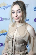SABRINA CARPENTER at Q102 Performance Studio in Bala Cynwyd 08/23/2017