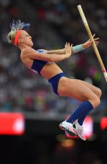 SANDI MORRIS at Women's Pole Vault Final at IAAF World Championships in London 08/06/2017