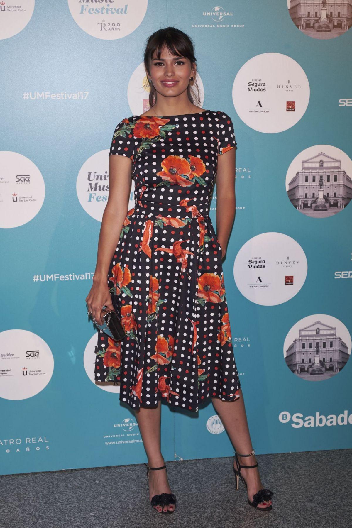 SARA SALAMO at Universal Music Festival in Madrid 07/28/2017