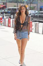 SARA SAMPAIO at Victoria's Secret Offices in New York 08/28/2017