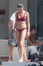 SARA SAMPAIO in Bikini at a Yacht in Ibiza 08/06/2017