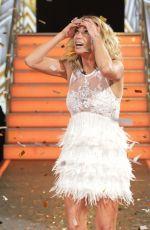 SARAH HARDING at Celebrity Big Brother Final Eviction in Borehamwood 08/25/2017