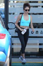 SARAH HYLAND Leaves a Gym in Los Angeles 08/30/2017