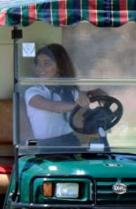 SARAH HYLAND on the Set of Modern Family in Los Angeles 08/15/2017