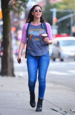 SARAH SILVERMAN Out and About in New York 08/28/2017