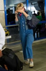 SCARLETT JOHANSSON at Airport in Athens 08/06/2017
