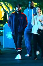 SELENA GOMEZ ant The Weeknd at Disneyland in Anaheim 08/21/2017