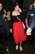 SELENA GOMEZ at Arclight Hollywood in Los Angeles 08/19/2017