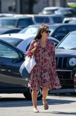 SELMA BLAIR on the Set of Heathers in Los Angeles 08/09/2017