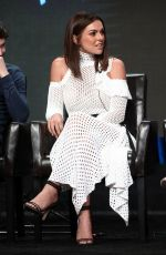 SERINDA SWAN at 2017 Summer TCA Tour in Beverly Hills 08/06/2017