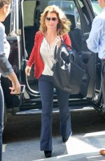 SHANIA TWAIN Arrives at NBC Studios in New York 08/17/2017