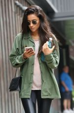 SHAY MITCHELL Out and About in New York 08/18/2017