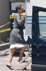 SIA, MADDIE ZIEGLER and KATE HUDSON on the Set of Sister in Los Angeles 08/08/2017