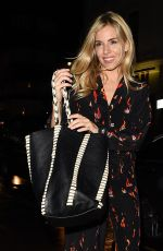 SIENNA MILLER and HAYLEY SQUIRES at Groucho Club in London 08/09/2017