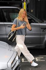 SIENNA MILLER Arrives at Apollo Theatre in London 08/04/2017