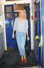 SIENNA MILLER Leaves Apollo Theatre in London 08/02/2017