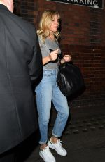 SIENNA MILLER Leaves Cat on a Hot Tin Roof Play in London 08/01/2017
