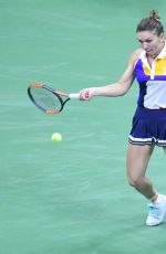 SIMONA HALEP at 2017 US Open Championships in New York 08/28/2017