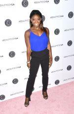 SIMONE BILES at Beautycon LA at LA Convention Center in Los Angeles 08/13/2017