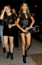 SISTINE ROSE STALLONE at Delilah in West Hollywood 08/10/2017
