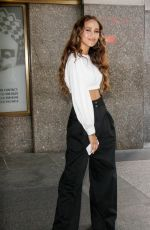SKYLAR STECKER Promotes Her Single Only Want You at E! News in New York 08/24/2017