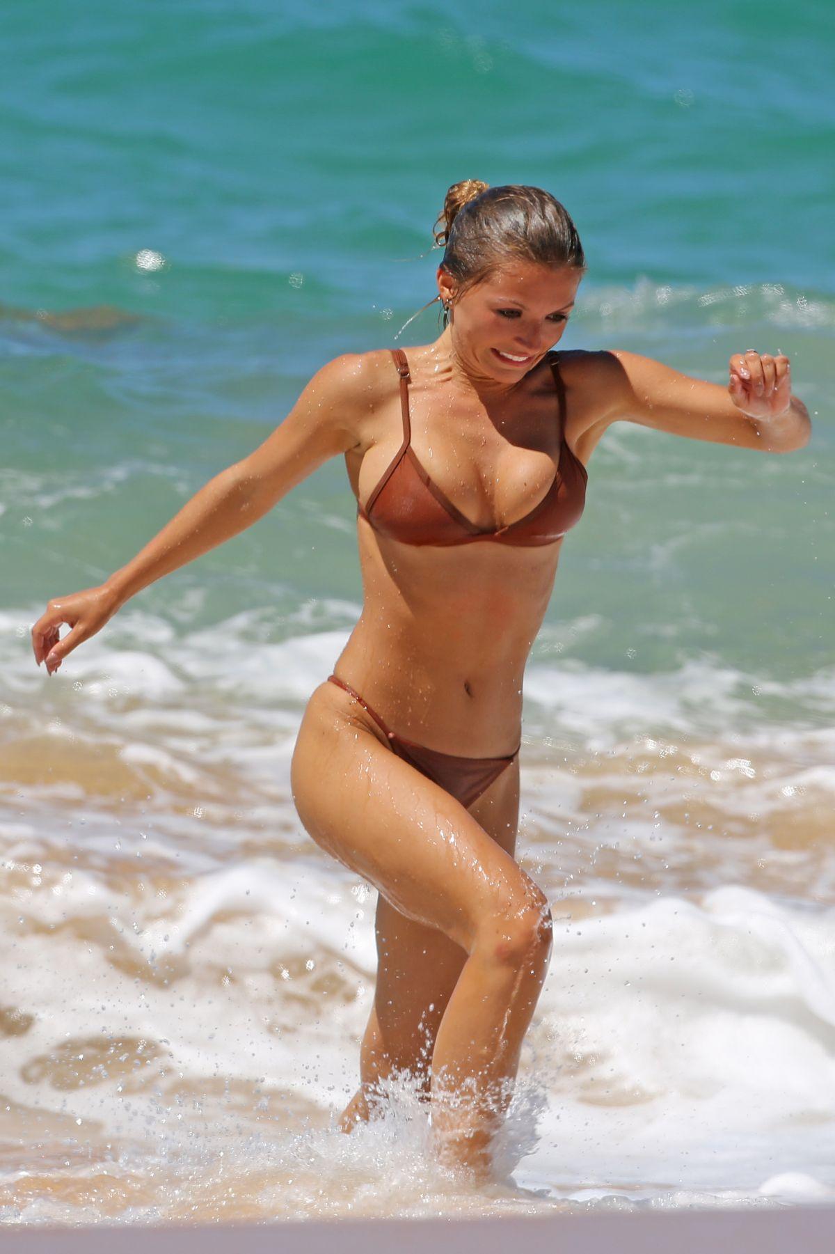 SOFIA BEVERLY in Bikini at a Beach in Hawaii 08/21/2017