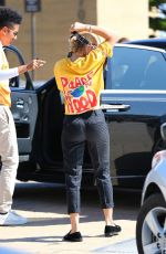 SOFIA RICHIE Arrives at Nobu in Malibu 08/20/2017