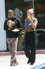 SOFIA RICHIE Out and About  in Beverly Hills 08/20/2017