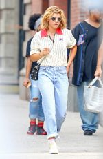 SOFIA RICHIE Out and About in New York 08/10/2017