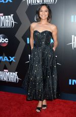 SONYA BALMORES at Marvel's Inhumans – The First Chapter Premiere in Universal City 08/28/2017