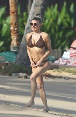 STACY FERGIE FERGUSON in Bikini in Kauai 07/31/2017