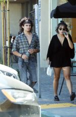 STELLA HUDGENS Out and About in Studio City 08/08/2017