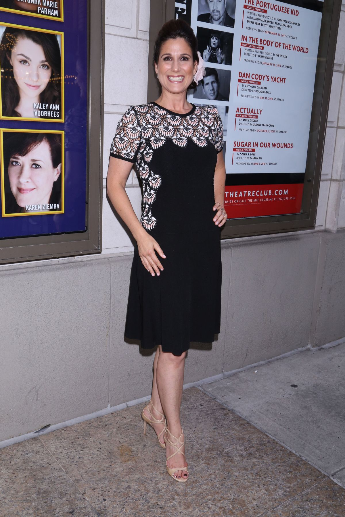 Margaret colin prince of broadway premiere in new york new pictures