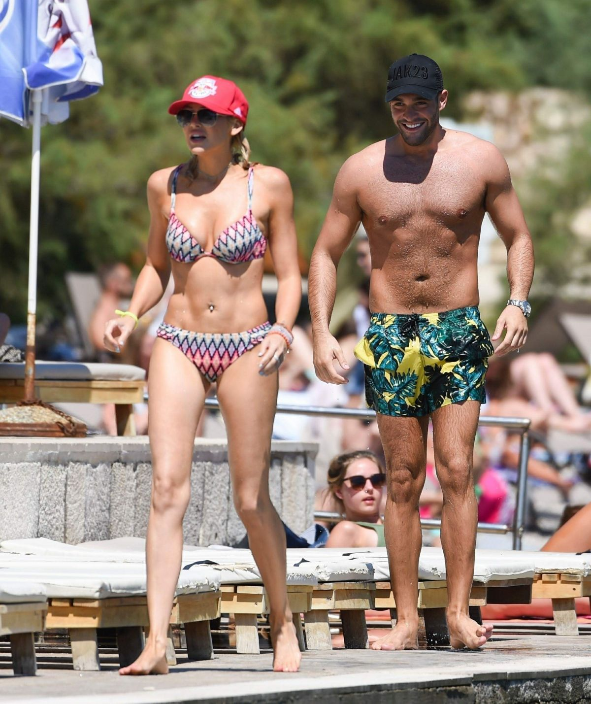 STEPHANIE PRATT in Bikini on Holiday 08/24/2017