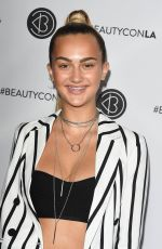 SUEDE BROOKS at 5th Annual Beautycon Festival in Los Angeles 08/12/2017